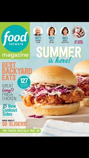 Food network magazine us on the app store screenshots forumfinder Choice Image