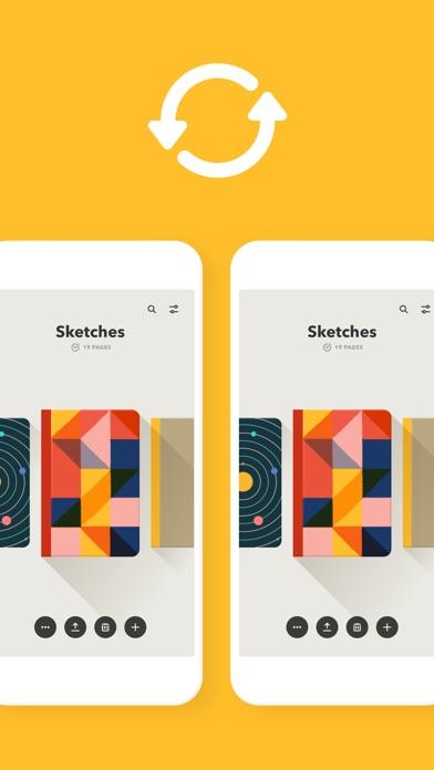 Paper, un carnet à croquis sur iPad-capture-5