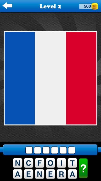 Guess the Flag Quiz World Game screenshot-4