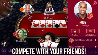 Zynga Poker - Texas Holdem 21.53  IOS