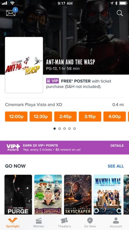 Fandango - Showtimes + Tickets screenshot-0
