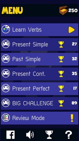 Jeux De Temps Verbes Anglais Dans L App Store