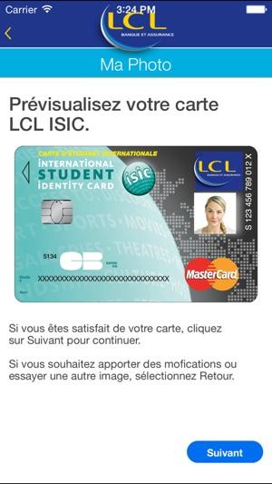 Carte Bancaire Lcl Etudiant.Lcl Isic Dans L App Store