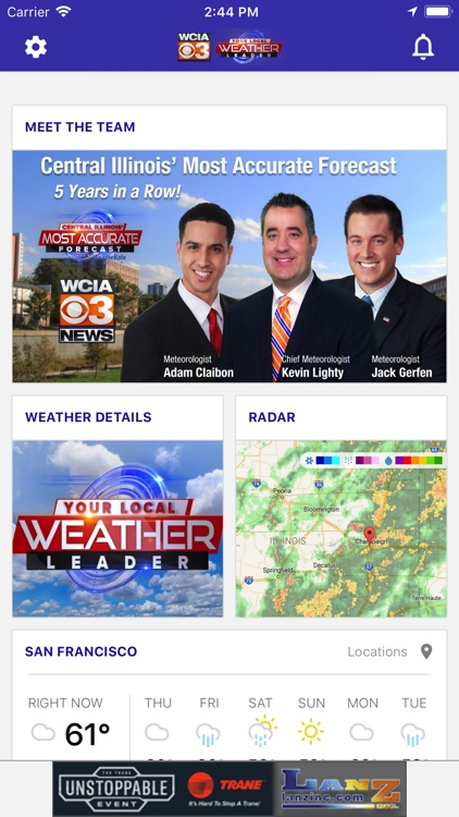 WCIA 3 Weather screenshot-0