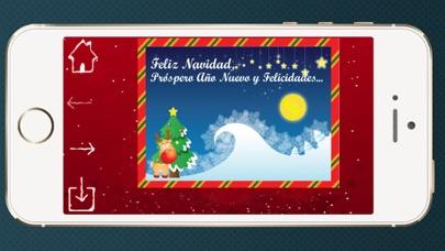Tarjetas de Navidad año nuevoCaptura de pantalla de6