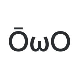 ŌωOmoji - Kaomoji Keyboard