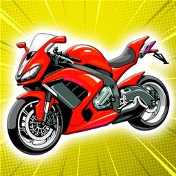 合并摩托车:伟大的自行车闲置大亨游戏
