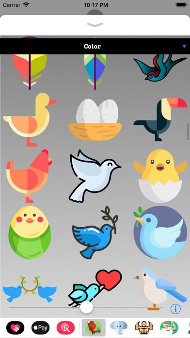Bird Stickers HD screenshot three