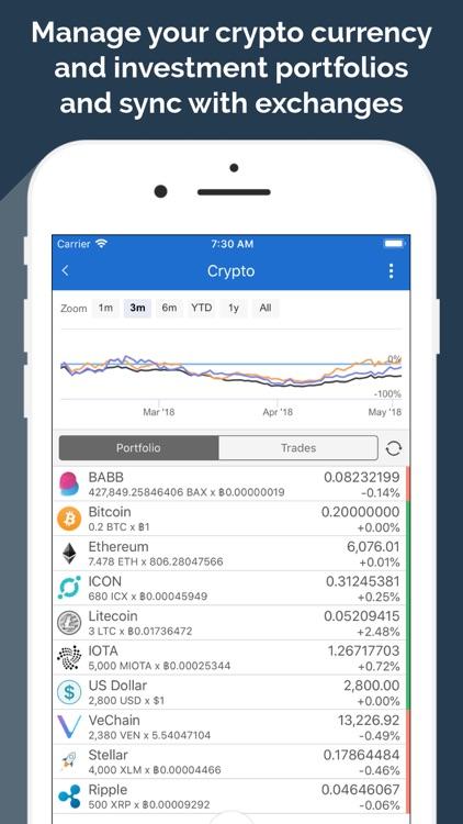 MoneyWiz 3 - Fiat & Crypto