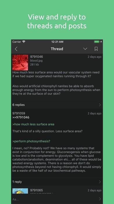 Tetra - Board Browser Screenshot