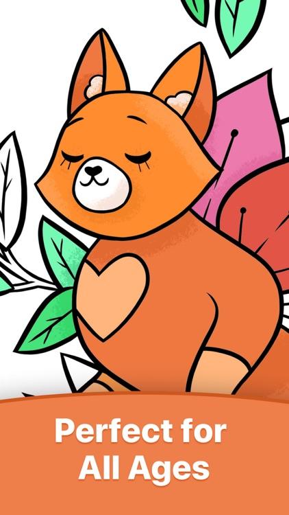 LILPRIN Coloring Book for Kids screenshot-6