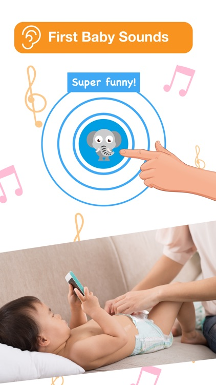 Happy Baby: laugh & learn app