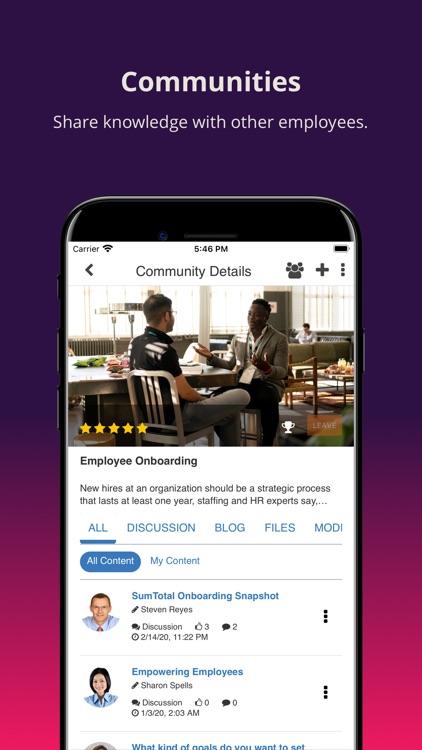 SumTotal Mobile screenshot-4
