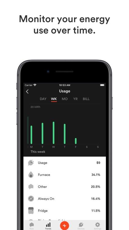 Sense Home Energy Monitor screenshot-3
