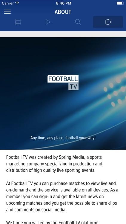 Football TV screenshot-4