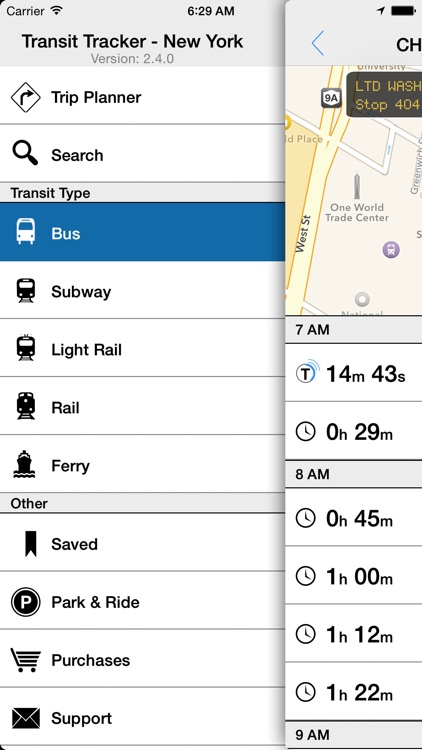 Transit Tracker - New York screenshot-1
