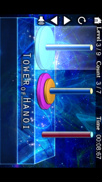Tower of Hanoi Puzzle Screenshots