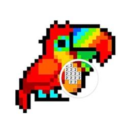 Color By Number Pixel Art2D 3D