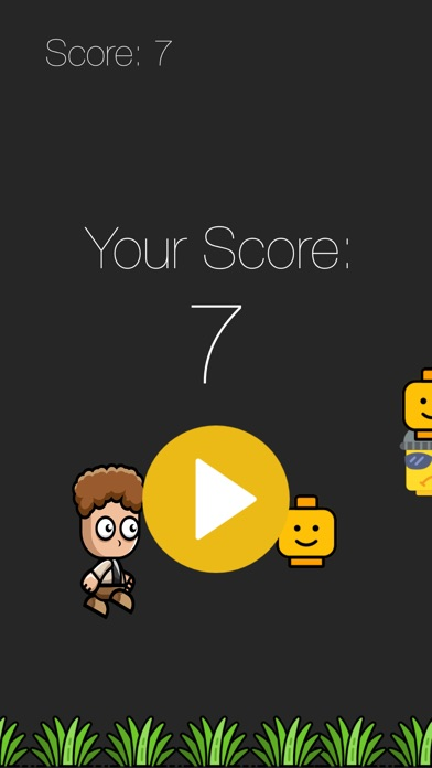 Screenshot of Coin-Man-Game App