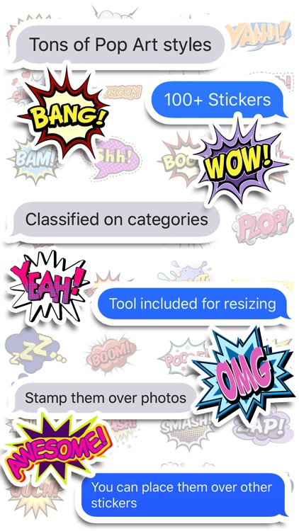 Comics Pop Art Sticker Effects screenshot-3