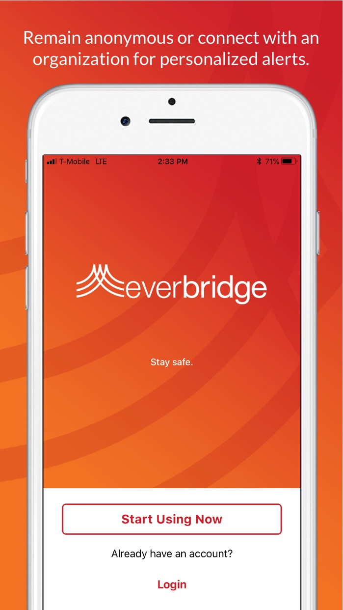 Everbridge Screenshot
