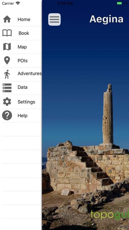 Aegina topoguide