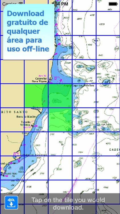Aqua Map Brasil - GPS Náutico screenshot-5