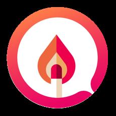 Fire - 应用程序Tinder聊天 for mac