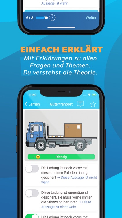 iTheorie Lastwagen CH Premium screenshot-3