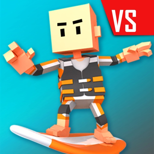 Download Flick Champions VS: Surfing free for iPhone, iPod and iPad
