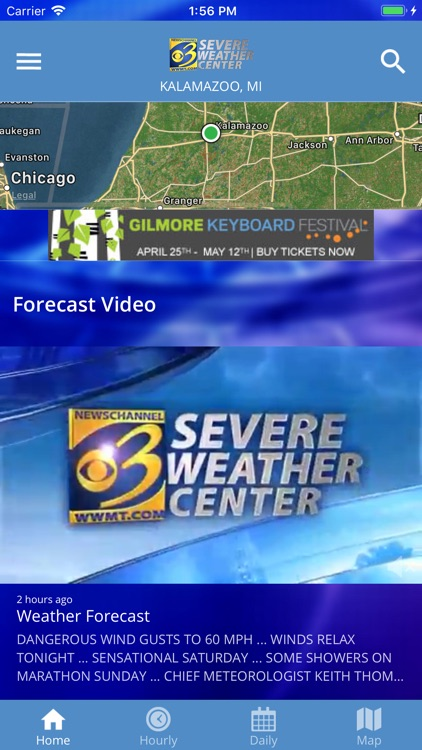 Severe Weather Center 3