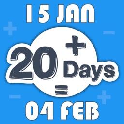 Date + Days Calculator