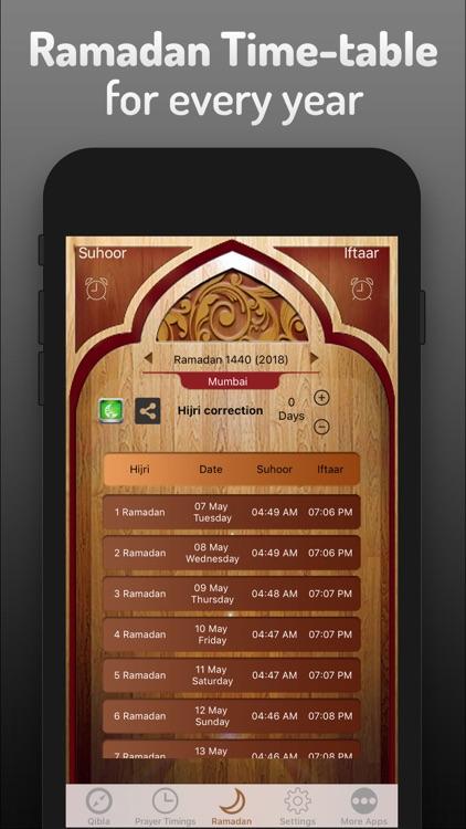 Islamic Qibla & Prayer Times screenshot-3