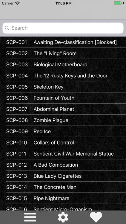 SCP Foundation Catalog