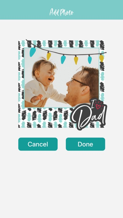 Father's Day Photo Greetings screenshot #4