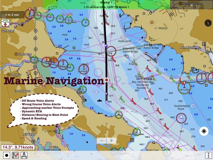 i-Boating:HD Gps Marine Charts screenshot-3