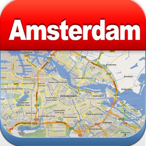 Amsterdam Offline Map, Metro