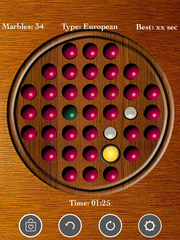 Brainvita Peg Solitaire <--> screenshot 6