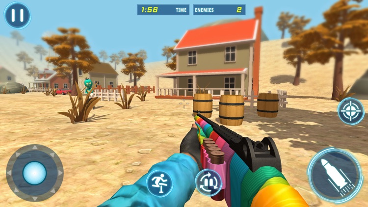 Stickman Rope Hero 3d Shooter screenshot-5