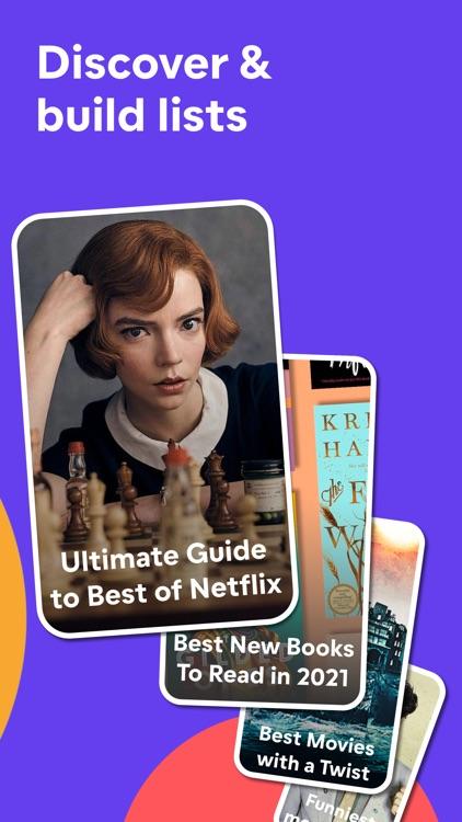 Friendspire: Movies, TV, Books screenshot-5