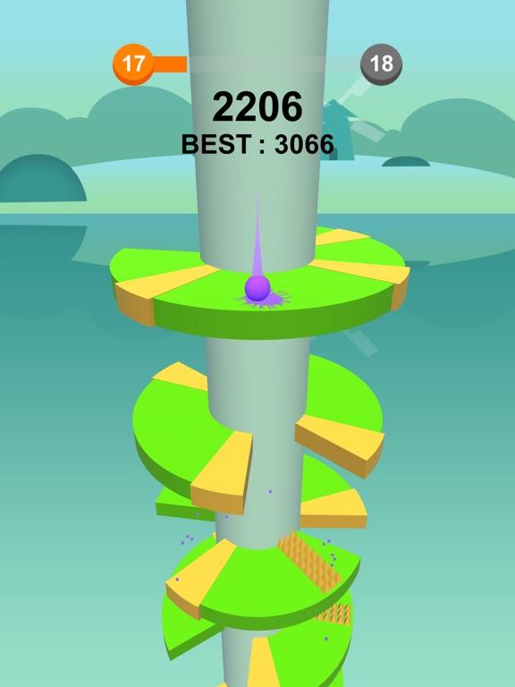 Jump Ball-Bounce On Tower Tile-ipad-1