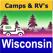 Wisconsin – Camping & RV spots
