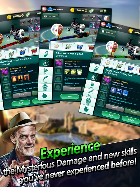 Скачать игру Улётный клёв: рыбалка в 3D