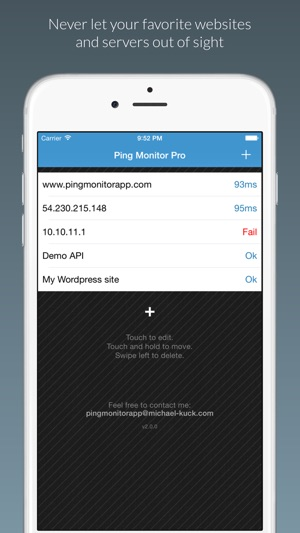 Ping Monitor - Server Status on the App Store