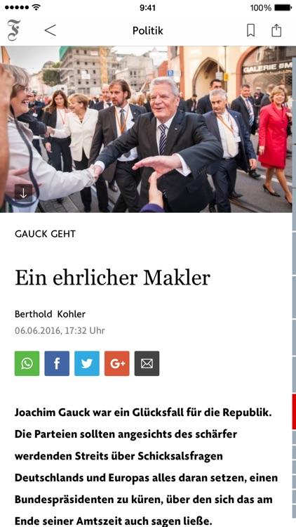 F.A.Z. Der Tag - Nachrichten screenshot-4