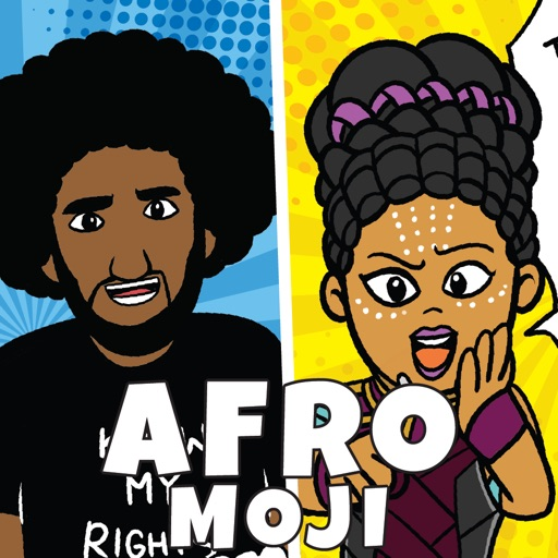 AfroMoji: Black Emoji Stickers