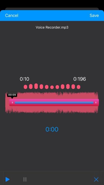 Voice Recorder, Voice Memos