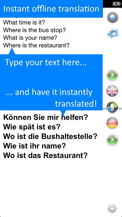 Offline Translator: German