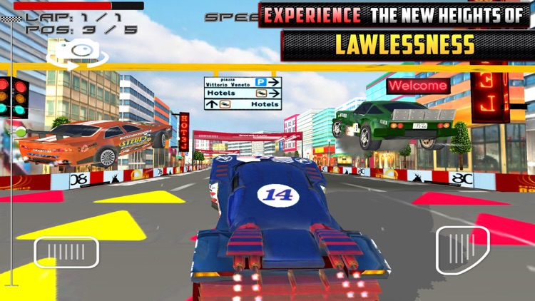 Racing Outlaws MMX Car Race screenshot-3