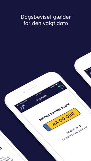Dagsbevis i App Store